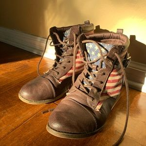 American flag booties